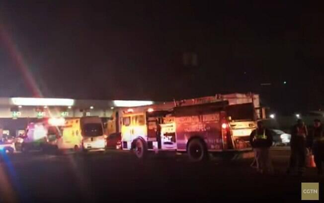 Houve outro incêndio em um duto da Pemex na cidade de San Juan del Rio, a cerca de 100 quilômetros de Tlahuelilpan