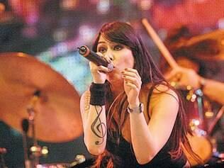 Pitty se apresenta no Pop Rock Brasil, em 2005: público mineiro é antigo conhecido da roqueira baiana