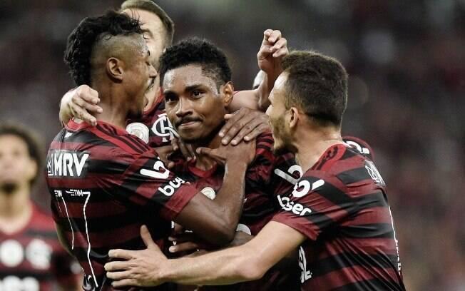 Vitinho brilhou pelo Flamengo