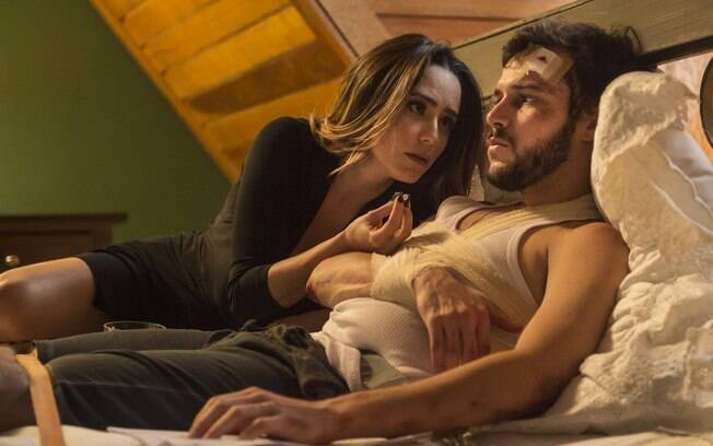 Bruna fica cega de amor e chega até a sequestrar o ex-namorado Giovanni em