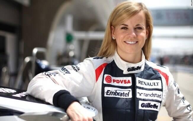 Susie Wolff testou carros da Williams
