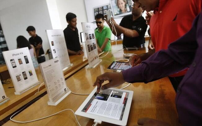 Novo iPad chega às lojas da Índia e de mais sete países nesta sexta-feira (27)