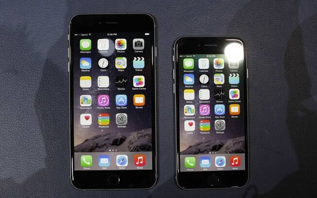 how big is iphone 6 screen iphone 6 tem vers 245 es telas de 4 7 e 5 5 polegadas 18429