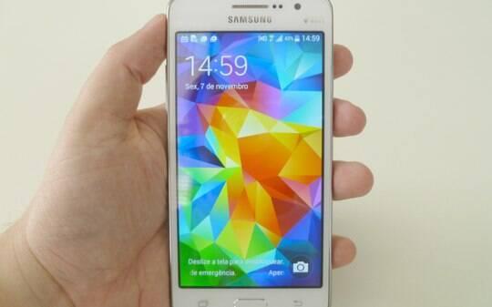 Galaxy Gran Prime é intermediário para fãs de selfies - Smartphones - iG