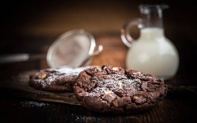 Cookie de cacau ajuda a manter a concentração e é uma ótima pedida para um lanche da tarde