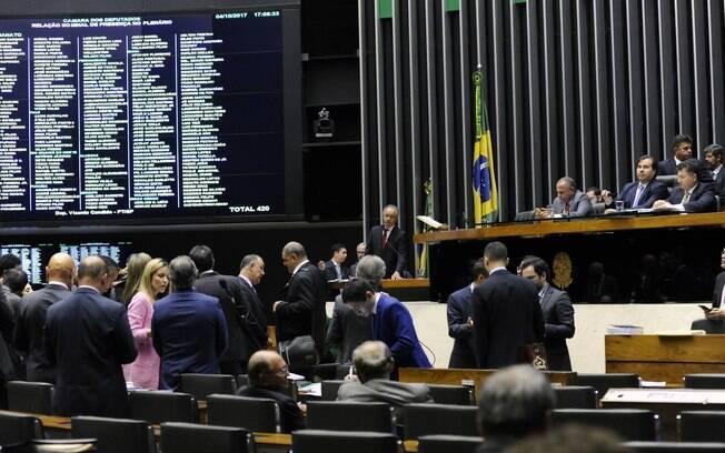 Plenário da Câmara aprovou a criação do fundo de financiamento de campanha