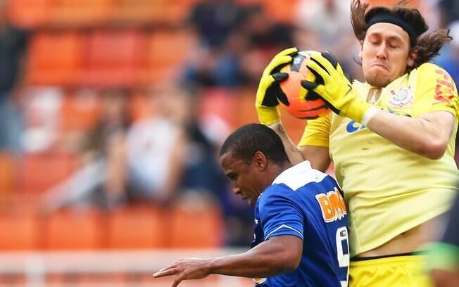 Cássio teve atuação destacada e evitou a derrota para o Cruzeiro