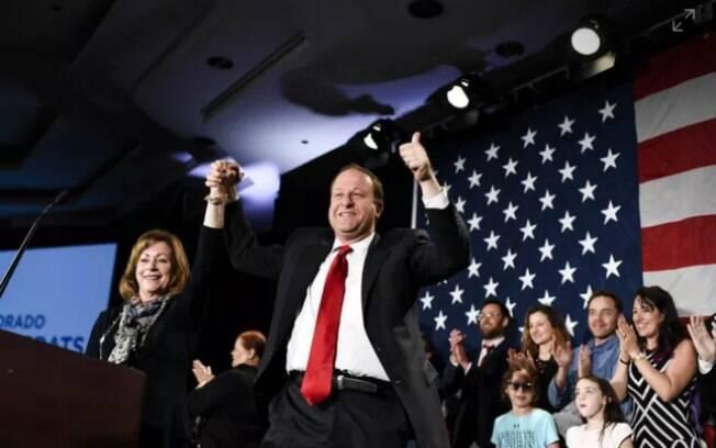 O democrata Jared Polis, que venceu as eleições nos EUA para o governo do Colorado