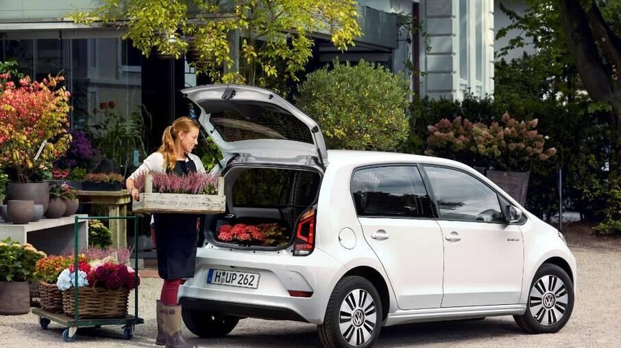 Volkswagen e-load Up: versão feita para levar cargas leves também nunca apareceu no mercado brasileiro
