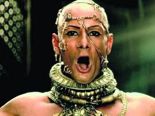 Xerxes é o Deus-Rei com sede de vingança neste segundo filme da saga
