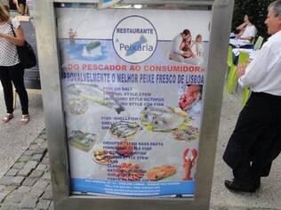 'Provavelmente' o melhor peixe fresco de Lisboa: amostra da sinceridade portuguesa