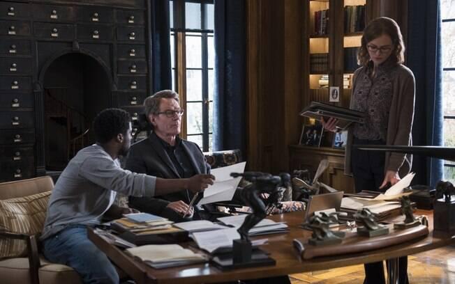 bryan Cranston, Nicole Kidman e Kevin Hart em cena de Amigos para Sempre