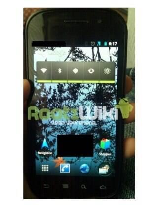 Nexus S rodando a nova versão do Android