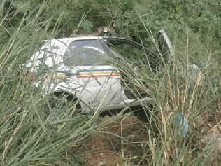 Veículo foi removido após algumas horas