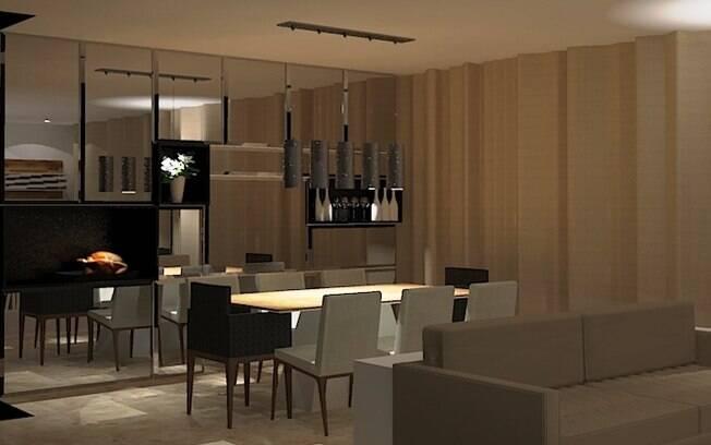 Adesivo De Chão Que Imita Madeira ~ Espelhos ajudam a ampliar a sala Arquitetura iG