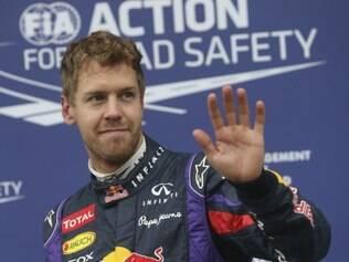 Alemão teve comemoração tímida após conquistar a pole position