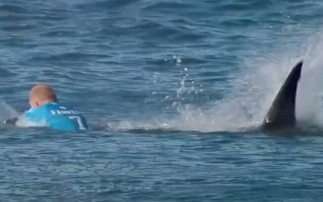 Surfista é atacado