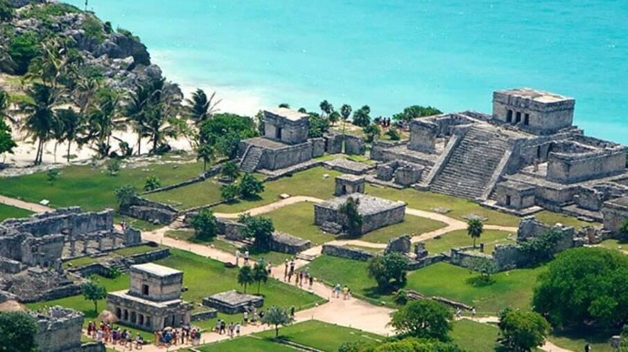 Tulum fica a 130 km de Cancún