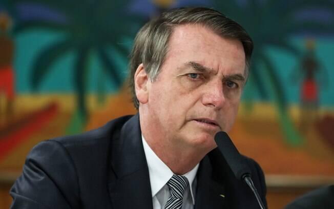 Bolsonaro disse, neste sábado (20), que suas declarações sobre