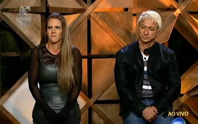 Paulo Nunes levou a pior na roça com Denise Rocha e foi eliminado de 'A Fazenda', da Record