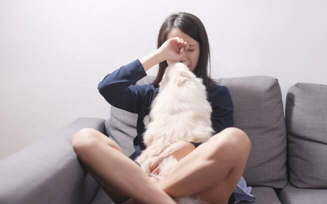 Entenda os sintomas da depressão pós-canina