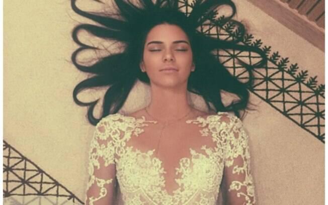 Foto da modelo Kendall Jenner é uma das mais curtidas da história do aplicativo