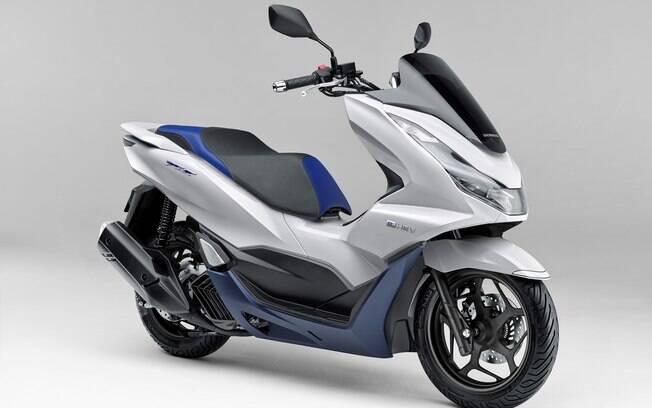 Honda PCX e: HEV: é uma versão híbrida, tendência que vai se espalhar pelas linhas de scooters pelo mundo