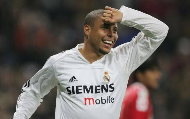 Ronaldo no Real Madrid