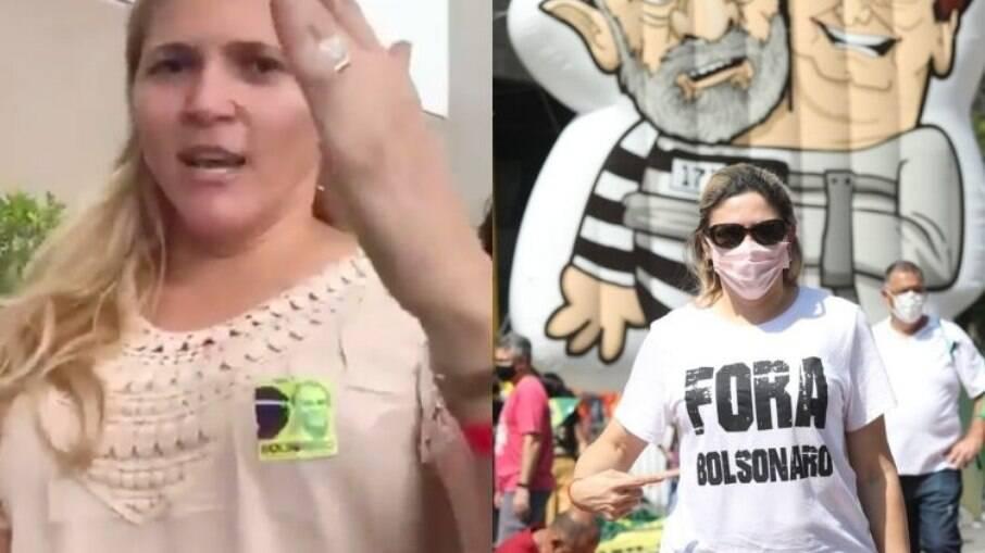 Ana Claudia agora milita contra Bolsonaro
