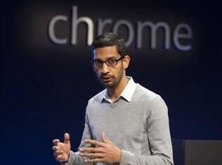 Sundar Pichai, do Google, elogiou trabalho da equipe que criou o aplicativo Facebook Home para Android