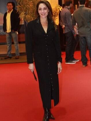 Christiane Torloni foi uma das estrelas no tapete vermelho