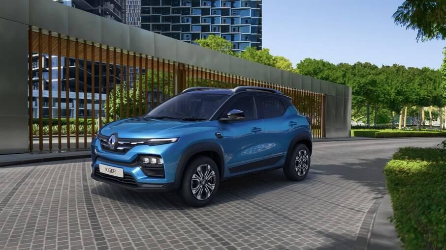 Renault Kiger estreia novo visual que deverá inspirar a renovação do Kwid nacional