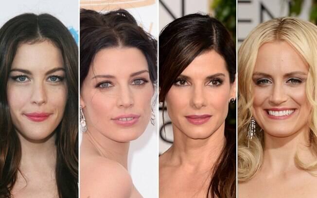 Liv Tyler, Jessica Paré, Sandra Bullock e Taylor Schilling têm algo em comum: usam batom manchadinho no tapete vermelho