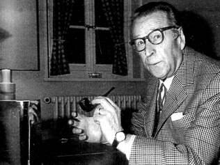 Prolífico. Criador do famoso comissário Jules Maigret, Georges Simenon escrever cerca de 400 livros