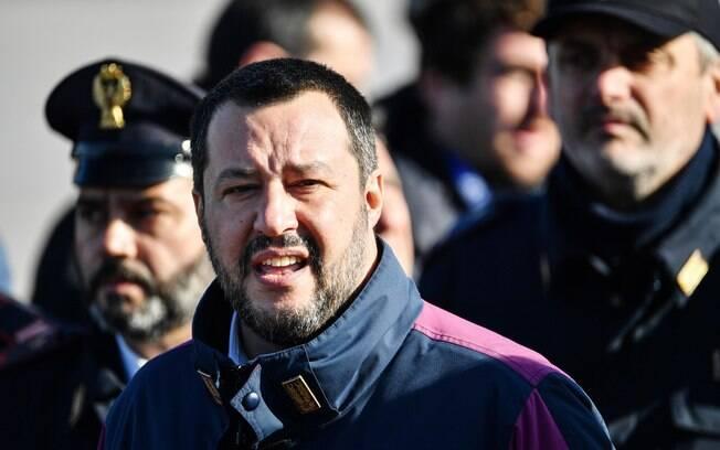 Partido de Matteo Salvini (extrema-direita) é o mais popular na Itália atualmente