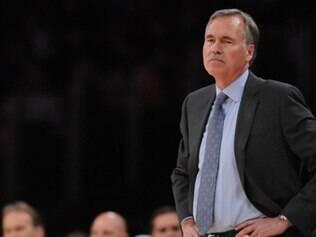 Mike D´Antony ficou quase dois anos no comando do Lakers