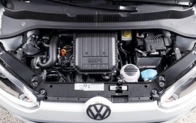 Kwid aposta num motor 1.0 SCe simplificado, Mobi apresenta o antiquado 1.0 Fire. Acima, o motor 1.0 do VW Up!
