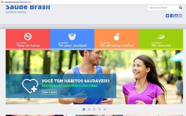 Para receber todas as orientações sobre como manter sua saúde em dia é preciso acessar a plataforma Saúde Brasil