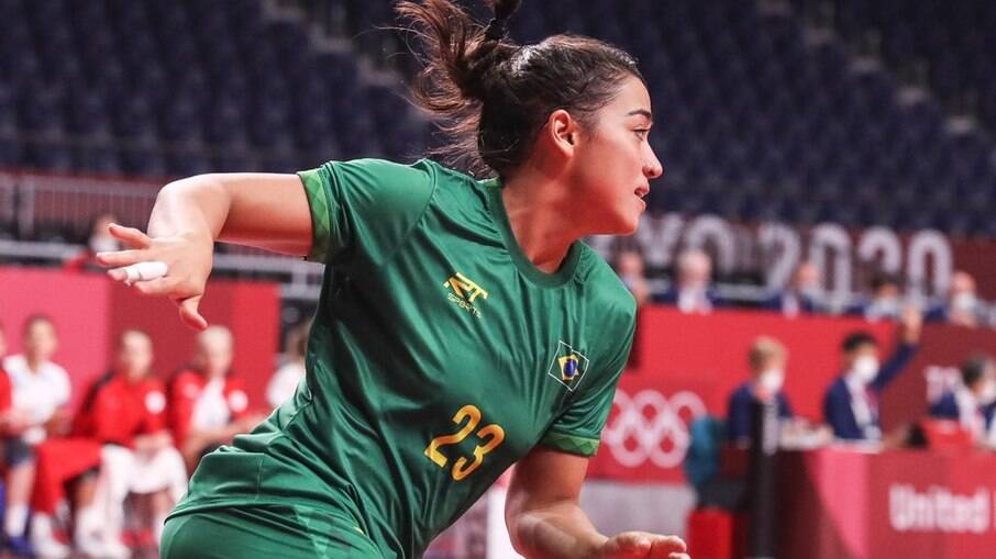 Brasil perdeu para a Espanha no handebol feminino