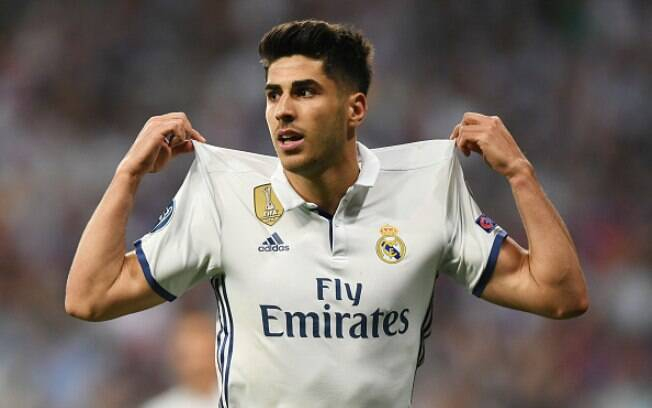 Marco Asensio, do Real Madrid