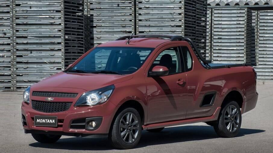 A caçamba da Chevrolet Montana pode levar 1.152 litros, mas logo será substituída por um modelo do porte da Toro
