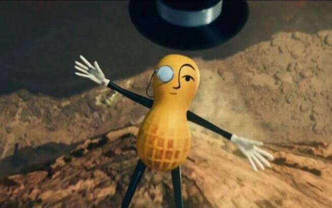 Mr. Peanut é o mascote da planters há 104 anos