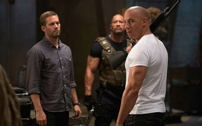 Paul Walker e Vin Diesel são os protagonistas da franquia