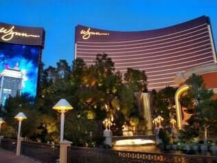 Hotel Wynn abriga lojas de grifes de alto luxo