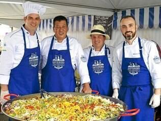 Chefs mineiros que participaram do Brazilian Day se reúnem novamente para o Foodie Experience
