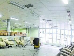 Espaço destinado a pacientes da hemodiálise ainda não está funcionando