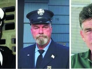 Coincidência. Howard Bischoff, Daniel Heglund e Robert Leaver morreram na última segunda-feira