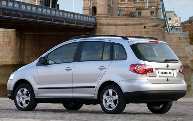 A raposa ainda contou com uma versão perua, a VW SpaceFox, que foi descontinuada em 2018
