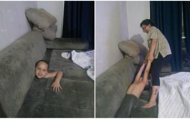 A publicação sobre a bagunça de criança viralizou no Facebook, recebendo dez mil curtidas e 53 mil compartilhamentos