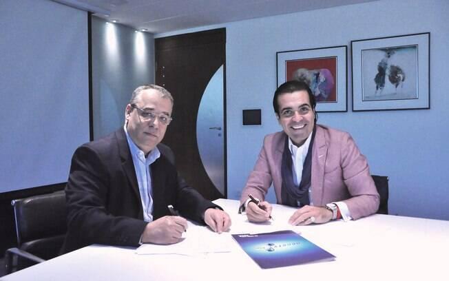 Fábio Arruda assina contrato com a RedeTV!